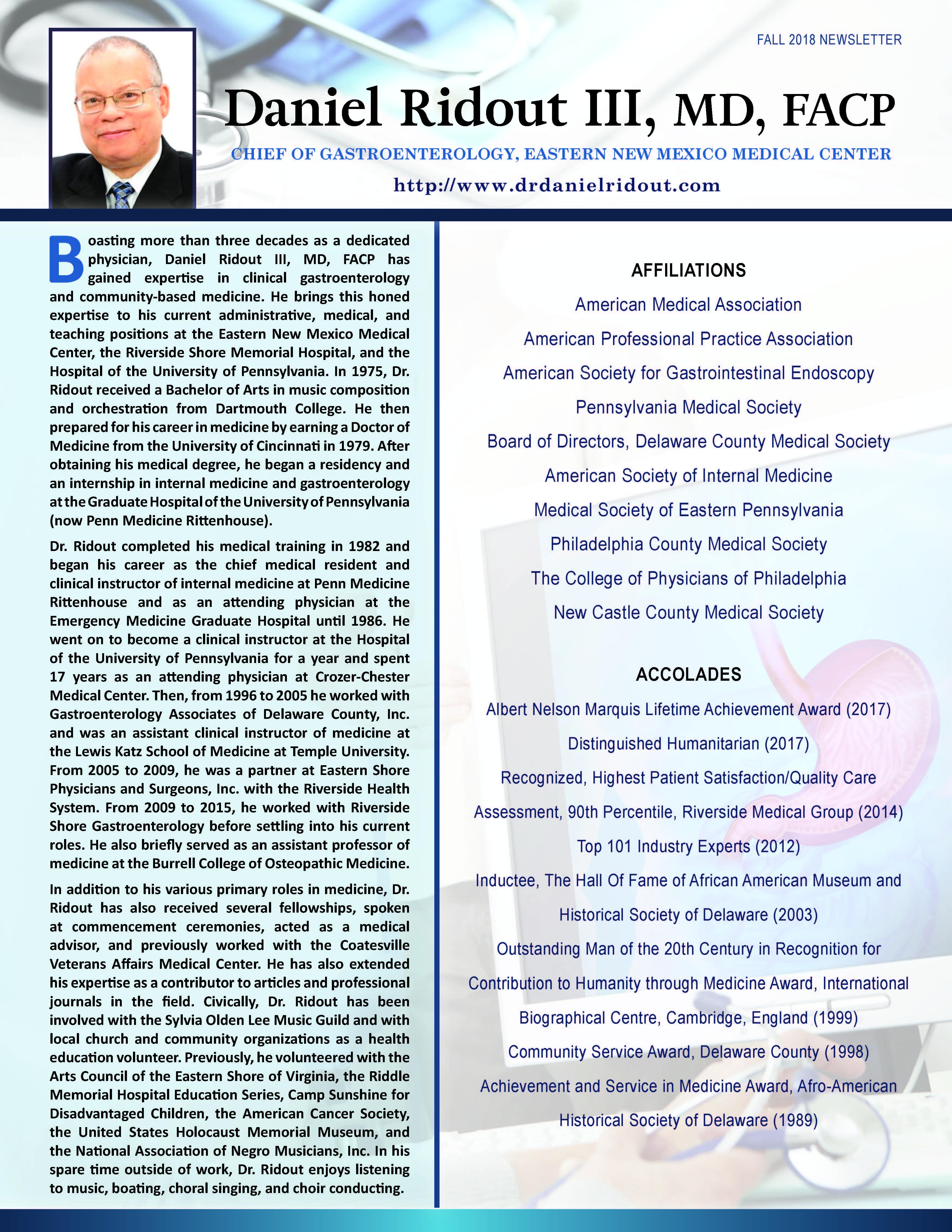 Penn Medicine Rittenhouse – Who's Who Newsletters
