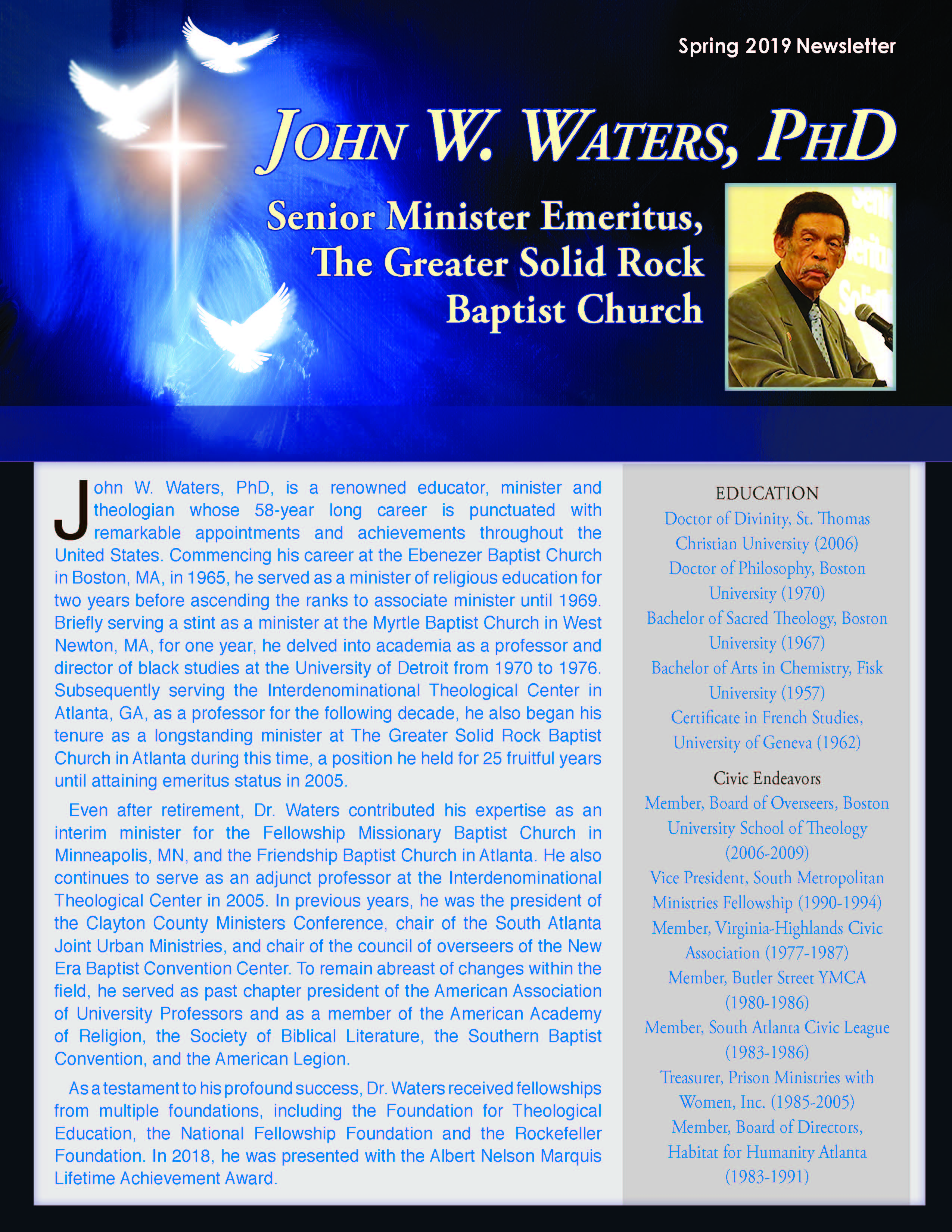 Ministerial Services